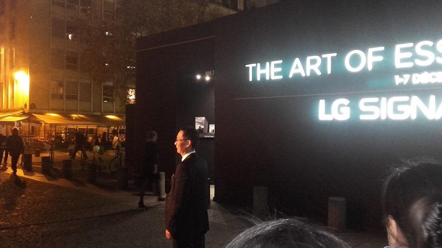 LG Signature président LG galerie