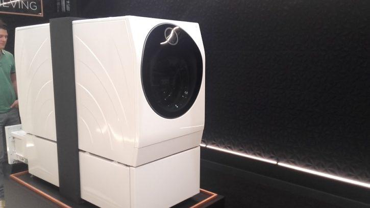 LG Signature machine à laver connectée