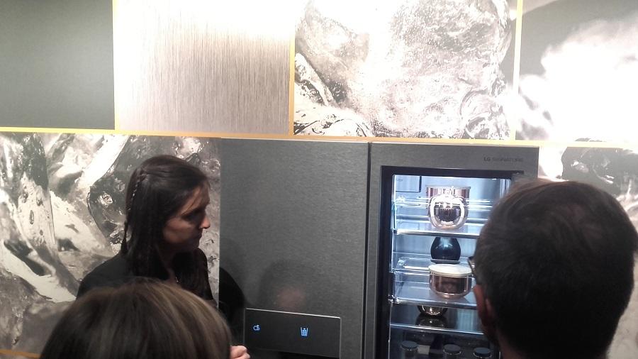 LG Signature réfrigérateur connecté