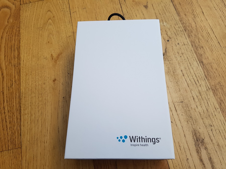 Withings Steel HR Unboxing coffret