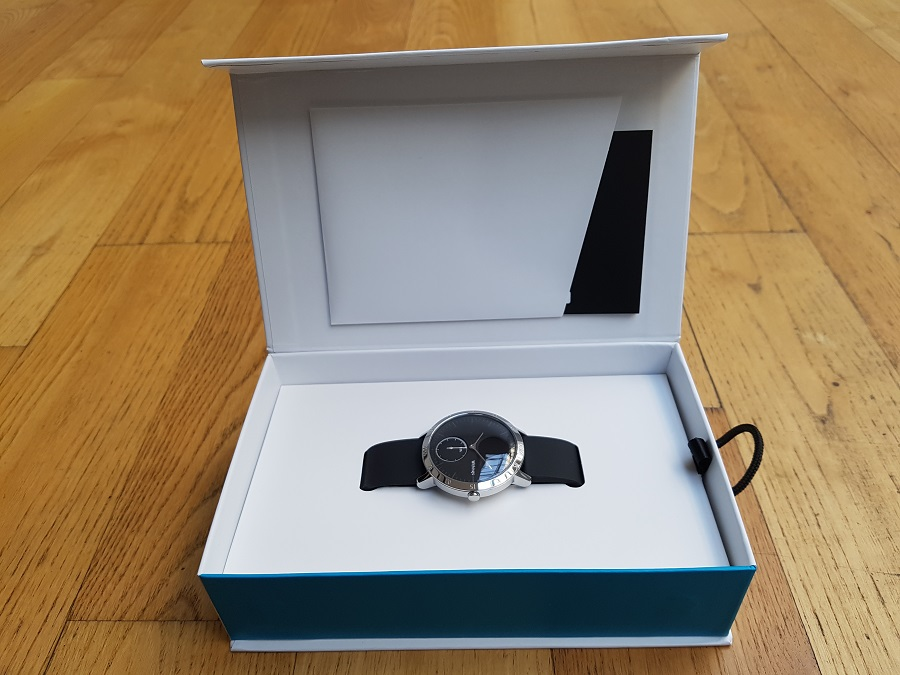 Withings Steel HR Unboxing coffret montre