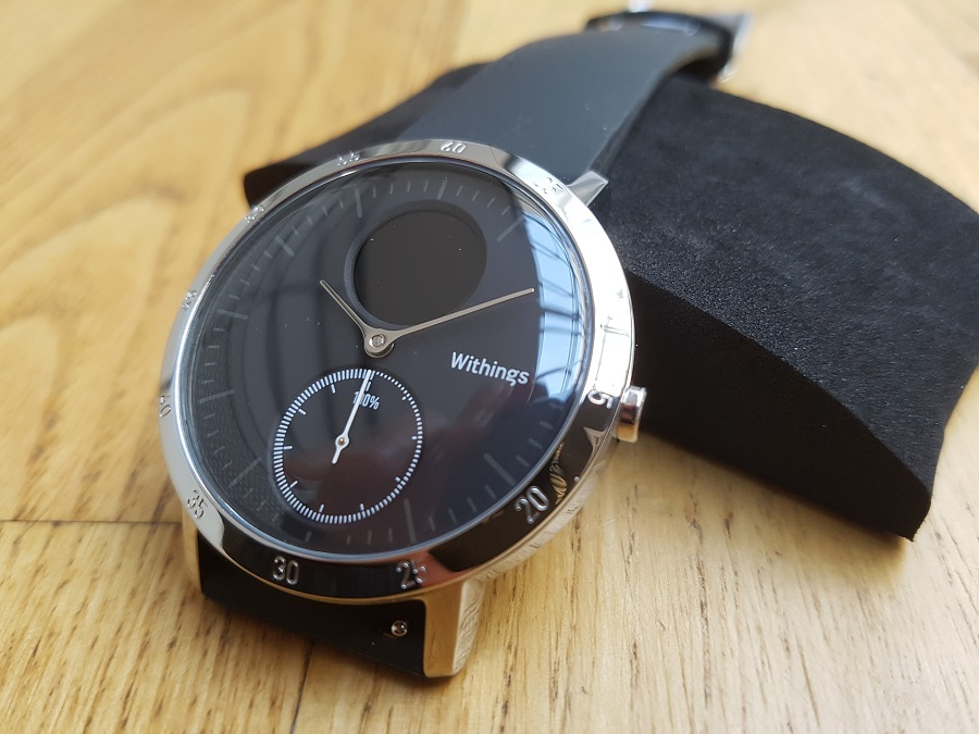 Withings Steel HR Design cadran analogique