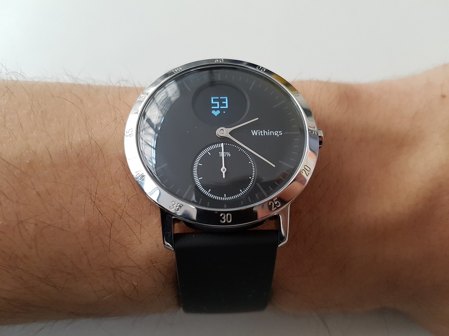 Withings Steel HR rythme cardiaque