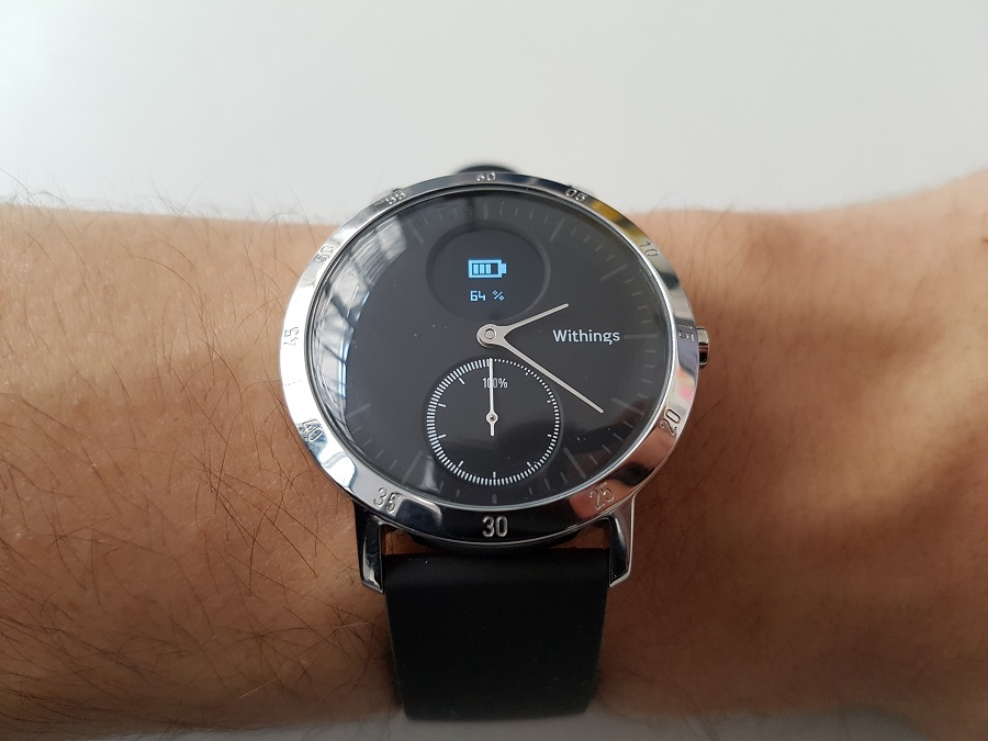 Withings Steel HR distance