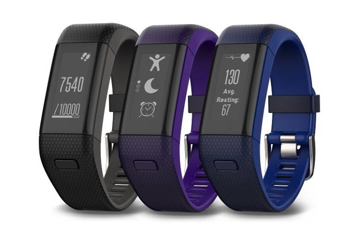 comparatif bracelets connectés Garmin Vivosmart HR