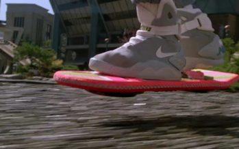 Quand pourrons-nous utiliser un skate volant de Retour vers le Futur ?