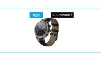 [TEST] Asus ZenWatch 3 : juste une autre montre connectée ?
