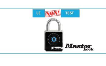 [NON-TEST] Masterlock : le cadenas un tout petit peu trop sécurisé