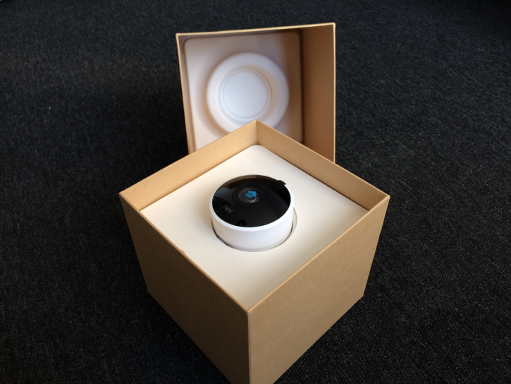 nest cam outdoor unboxing couvercle