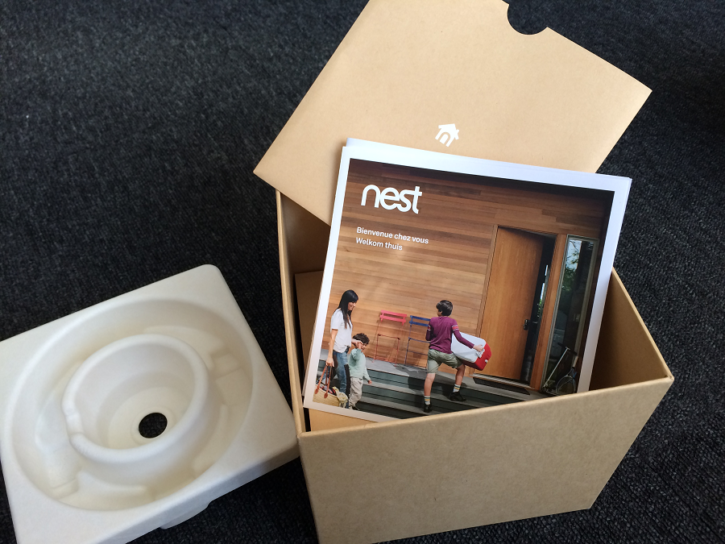 nest cam outdoor unboxing guide