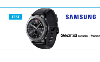 [TEST] Samsung Gear S3 : des fonctionnalités à gogo !