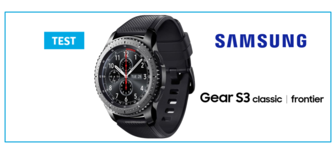 samsung gear s3 test de la montre connect e haut de gamme. Black Bedroom Furniture Sets. Home Design Ideas
