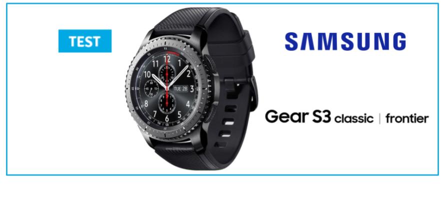 samsung gear s3 test de la montre connect e haut de gamme. Black Bedroom Furniture Sets. Home Design Ideas