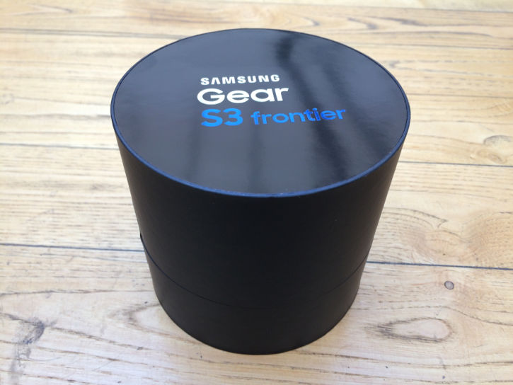 samsung gear s3 unboxing