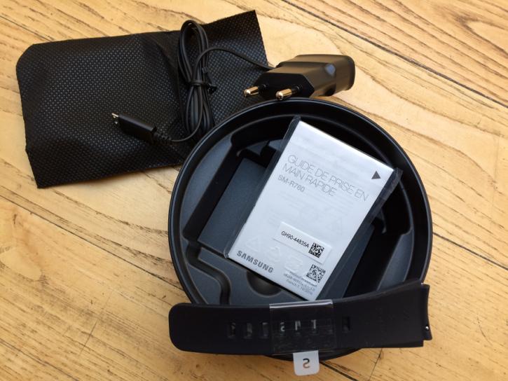 samsung gear s3 unboxing accessoires