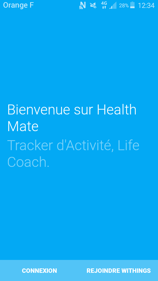 Withings Steel HR application accueil