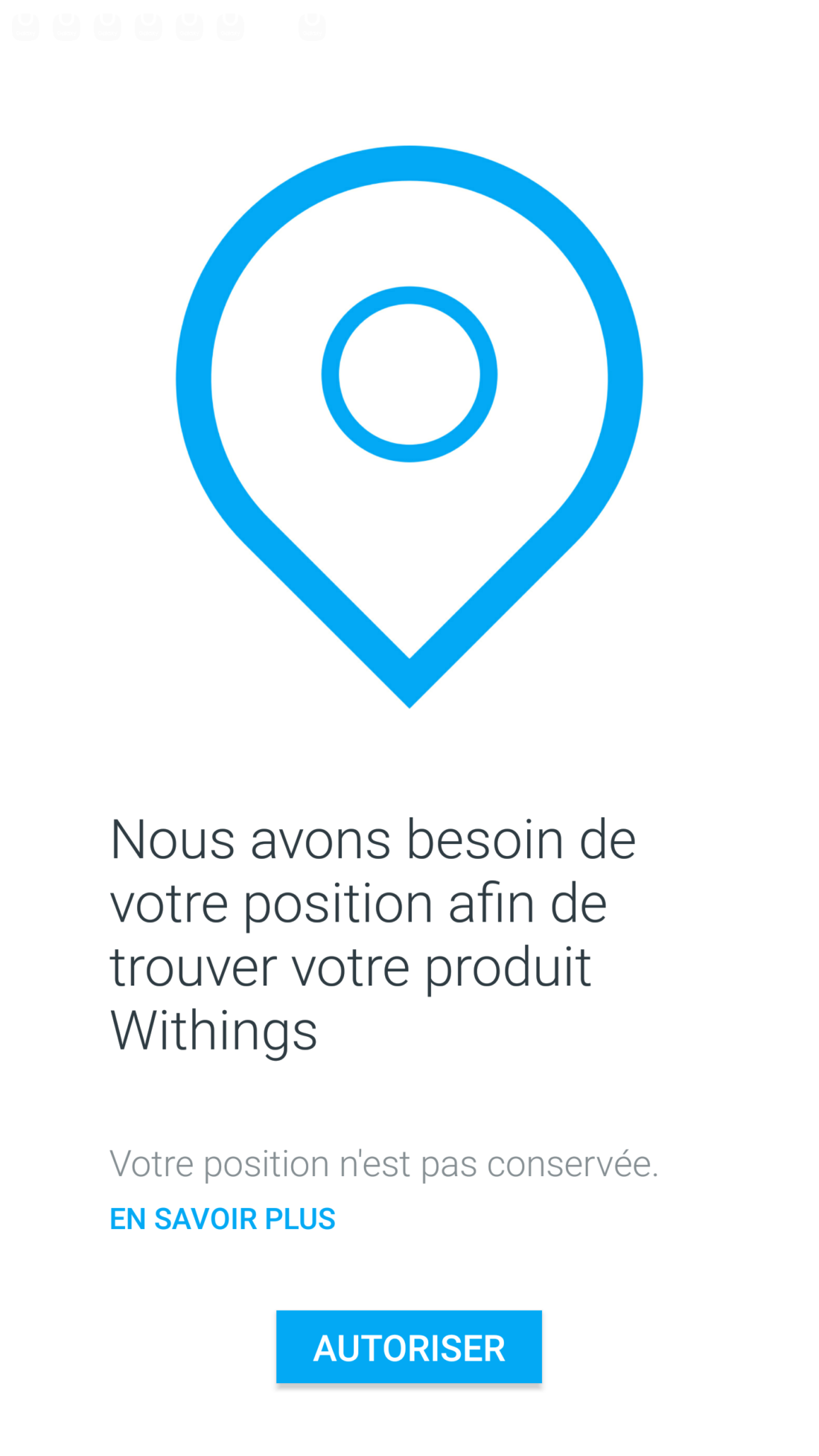 Withings Steel HR application appareillage