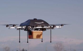 Amazon Prime Air : une première livraison par drone réussie