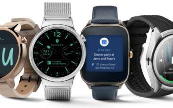 Android Wear 2.0 : Google se lance sur le marché des montres connectées