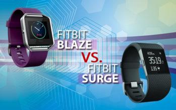 Fitbit Blaze vs Fitbit Surge : quelle montre fitness choisir ?