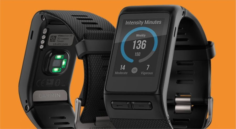 tracker fitness waterproof garmin vivoactive hr