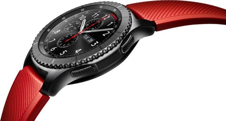 Guide des achats de Noël montre Samsung Gear S3