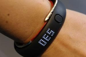 Pédomètre bracelet connecté