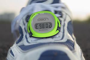 Pédomètre chaussure connecté appli smartphone
