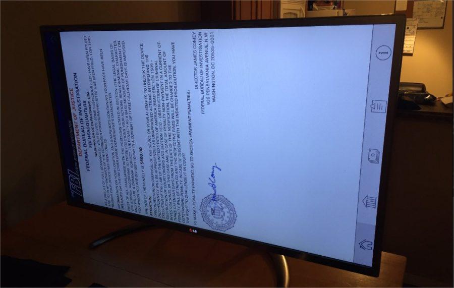 ransomware televiseur connecte lg