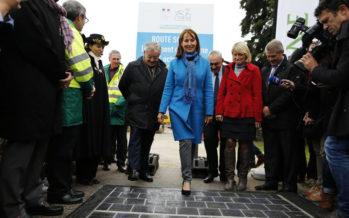 Inauguration de la première route solaire en France : une première mondiale