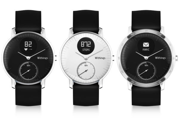 tracker activite withings steel hr