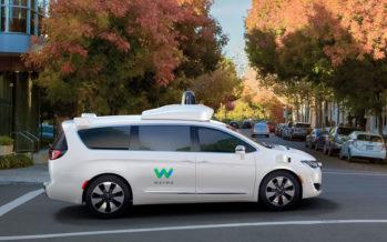 Waymo : le monospace autonome de Google dévoile ses courbes