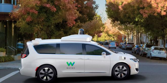 Photos voiture autonome Waymo Google Car Images Chrysler Pacifica