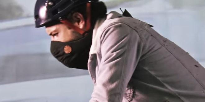 Wair foulard connecté pollution de l'air villes filtration