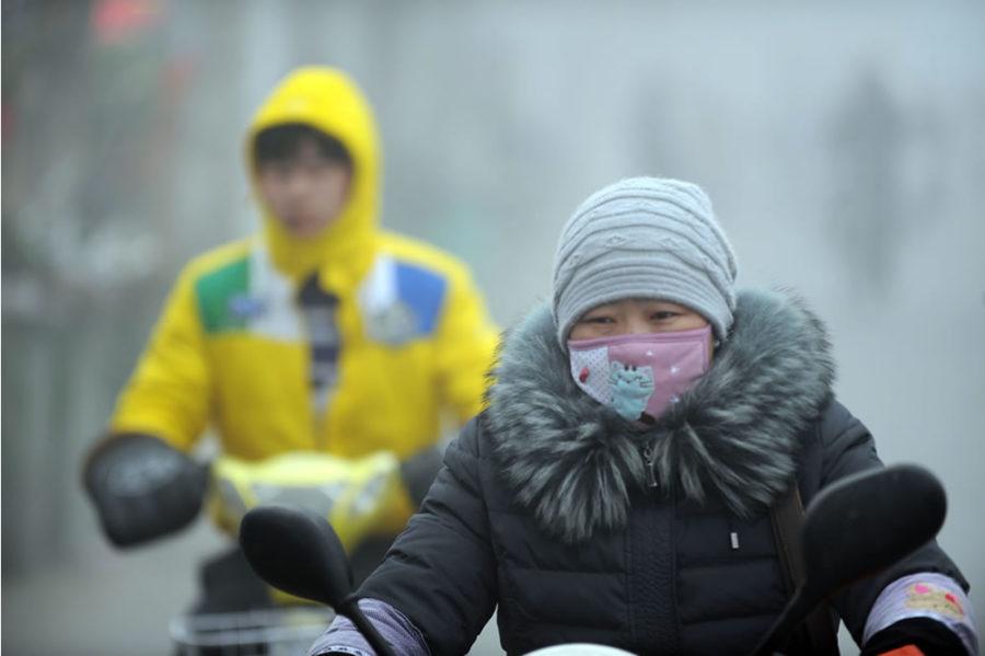 Wair foulard connecté pollution urbaine contamination polluants filtre