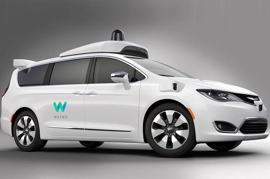 Waymo monospace autonome photos images Google Car