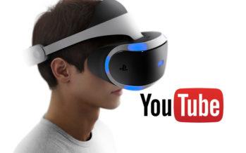 Les vidéos 360 degrés sur YouTube bientôt prises en charge sur le PS VR