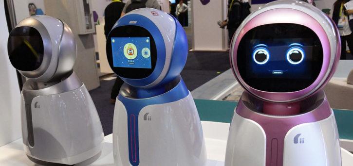 robot ces 2017 intelligence artificielle kikoo