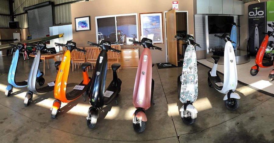 ojo commuter scooter ces 2017