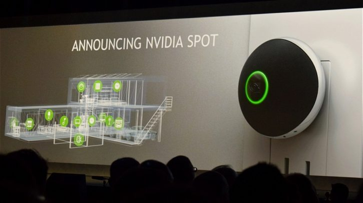 ces 2017 nvidia spot shield tv conférence nvidia shield
