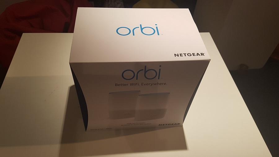 Test unboxing Orbi Netgear routeur WiFi