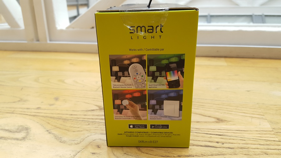 test Awox SmartLIGHT c9 Mesh unboxing