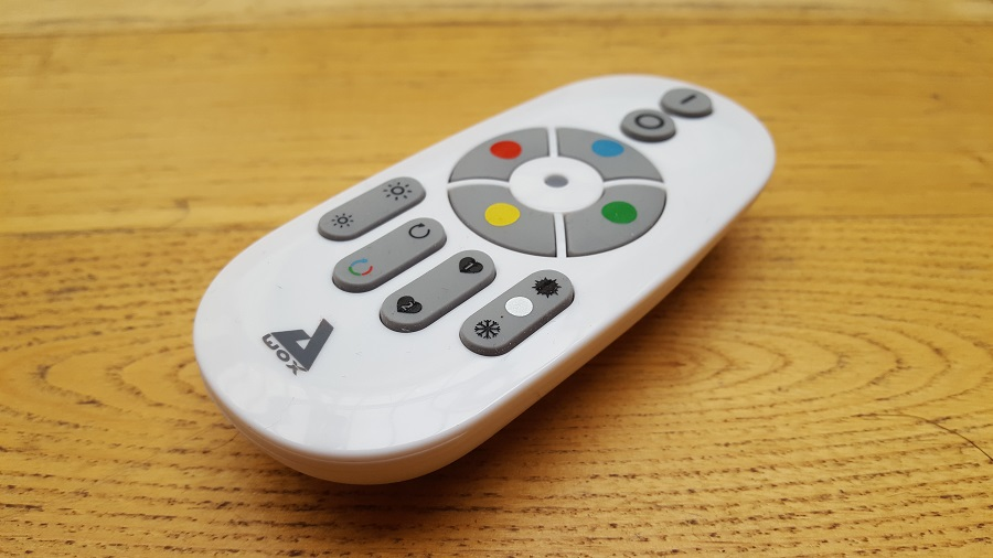 test Awox SmartLIGHT c9 Mesh télécomande
