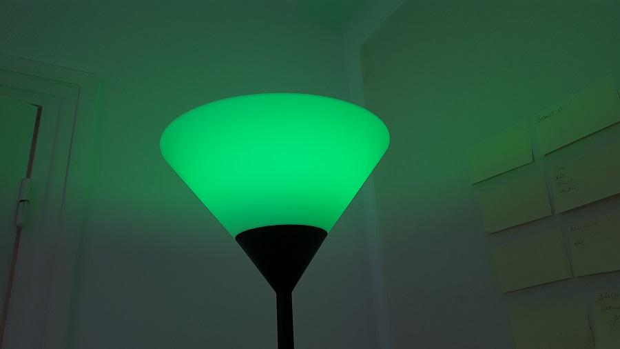 test Awox SmartLIGHT c9 Mesh vert