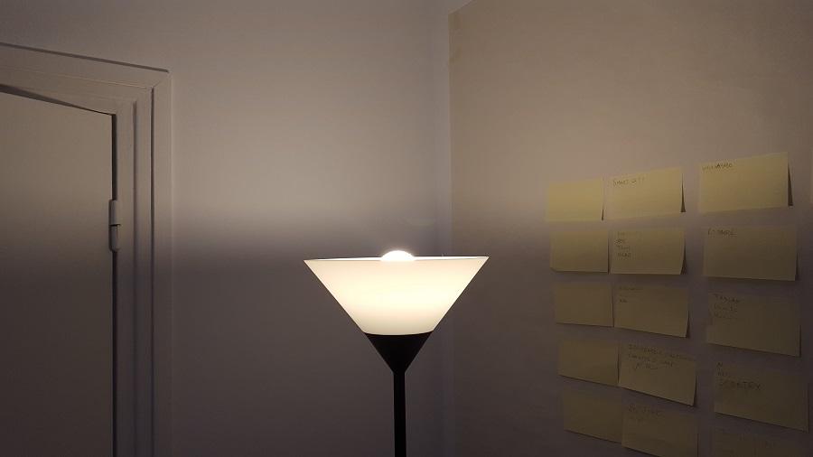 test Awox SmartLIGHT c9 Mesh lumière blanche