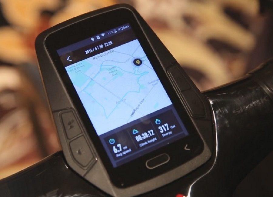 smart bike leeco ces 2017 gps