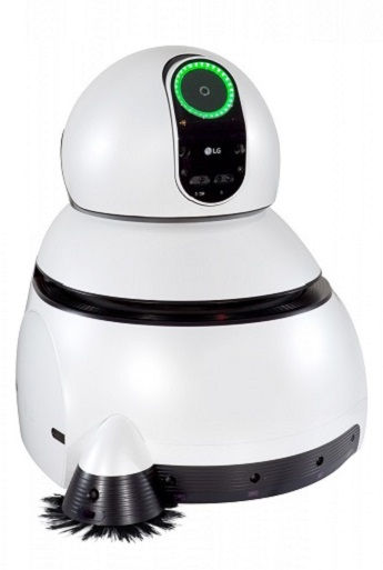 ces 2017 lg hub robot tondeuse