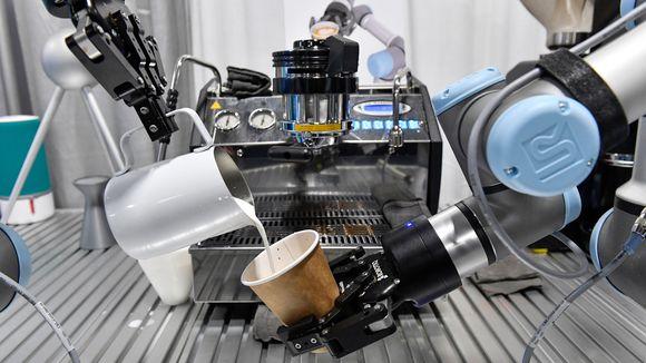 robot intelligence artificielle ces 2017 barman