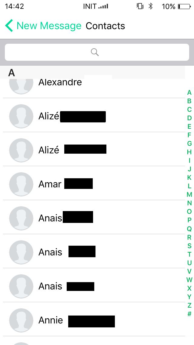 Test Utilisation Oui Duo Plus Application Contact Téléphone