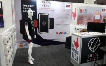 CES 2017: Shapeheart transforme votre smartphone en cardiologue